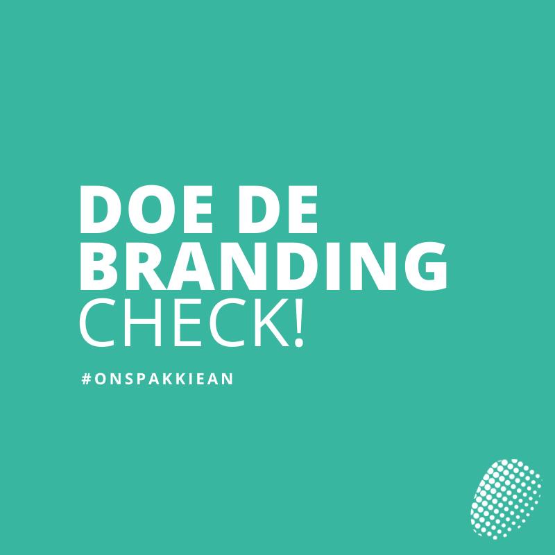 Branding check huisstijl MediaCenter